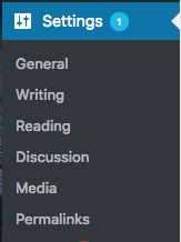 Where to find the general settings for your WordPress blog - WordPress admin panel   PearTreePond - The Solopreneur Safety Net