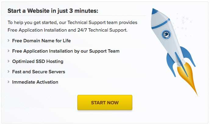 FastComet webhosting