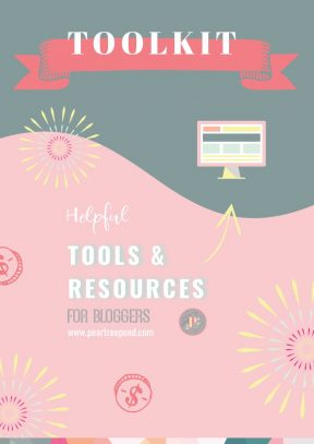 Helpful Tools & Resources for Bloggers | PearTreePond - The Solopreneur Safety Net
