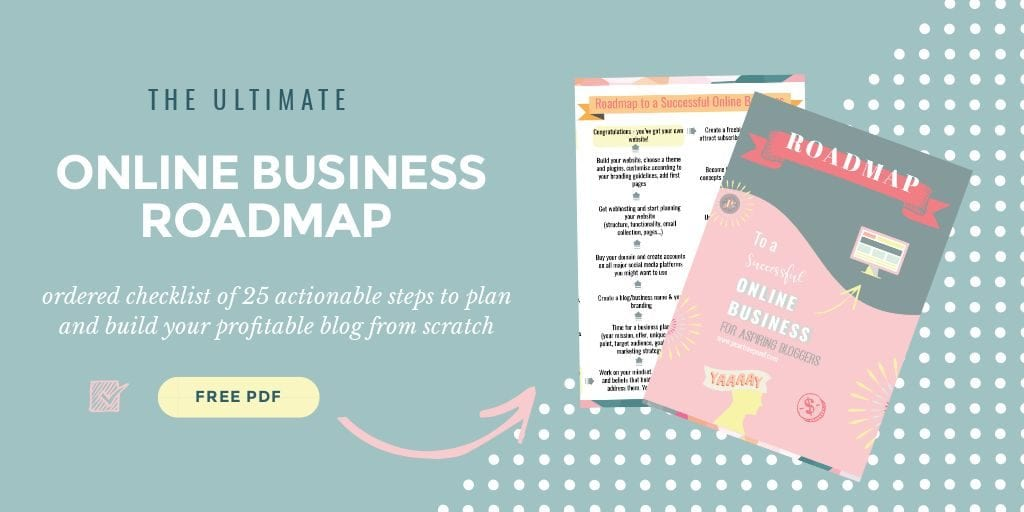 Online business roadmap free download; post | The Solopreneur Safety Net