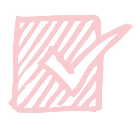 Pink checkbox