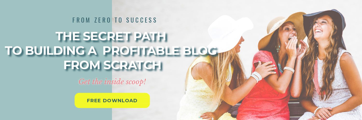 The Secret Path to Building a Profitable Blog From Scratch | PearTreePond - The Solopreneur Safety Net