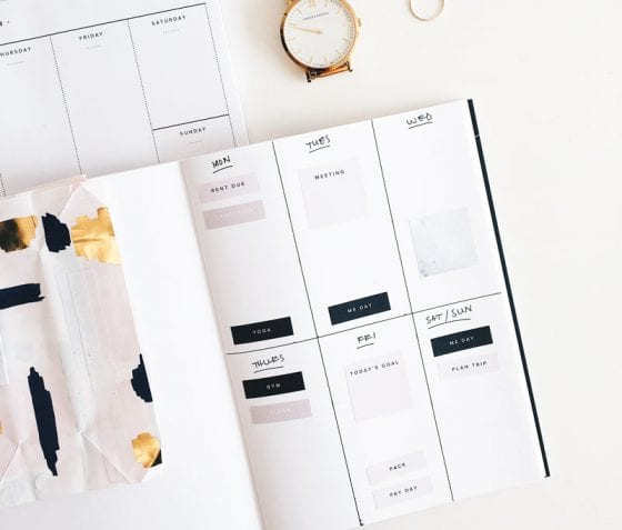 Start using a content calendar to create your blog content; featured image | PearTreePond - The Solopreneur Safety Net