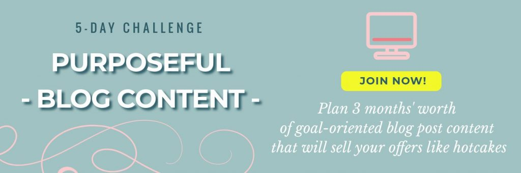 Blog content challenge