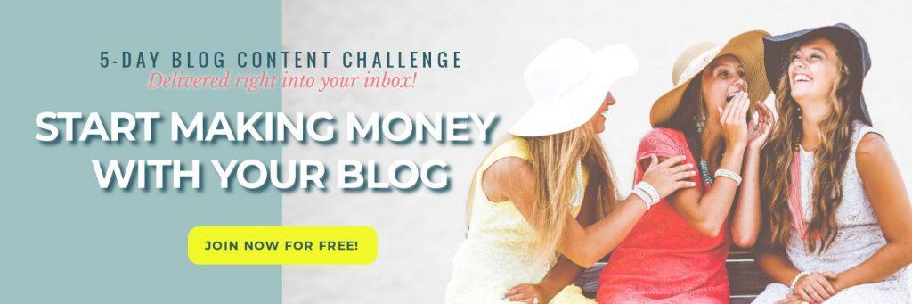 Blog content challenge hero
