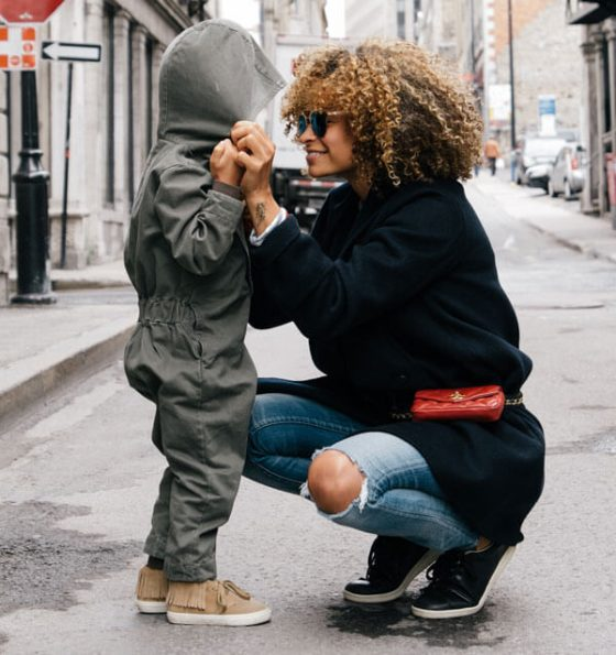 mompreneur life; featured image of mom and son