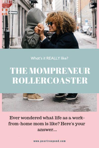 Mompreneur Life Pin image