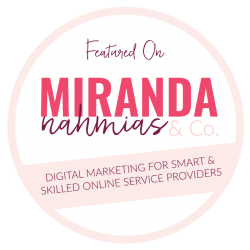 Featured on Miranda Nahmias & Co