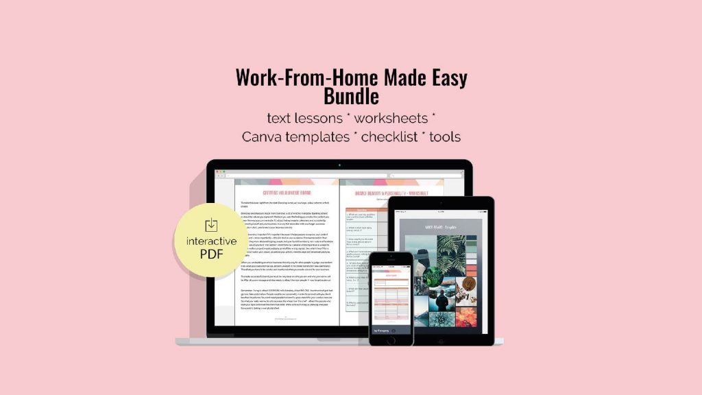 Work-From-Home Made Easy - Mockup