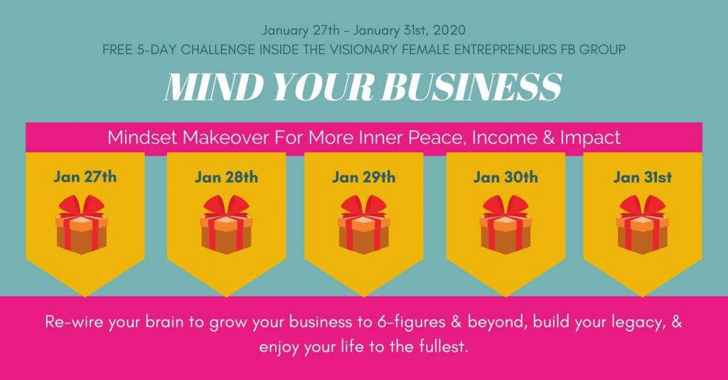 Mind Your Business Challenge January 2020